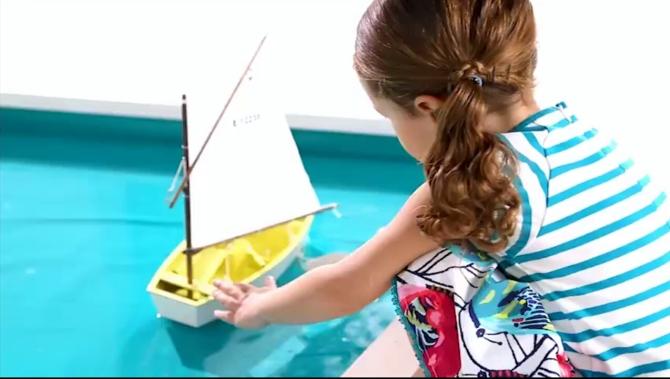 Détails look mini kid été fille catimini 2015